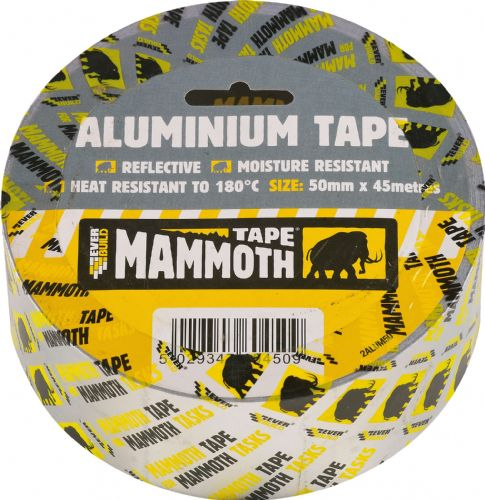 Aluminium Tape Silver 75mm x 45m
